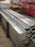 Sichere haltbare Metallplanke für Baugerüst