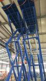 Table élévatrice hydraulique stationnaire utilisée de ciseaux de charge lourde