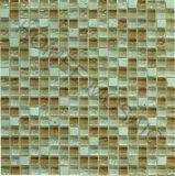 Tuiles de mosaïque - mosaïque en pierre en verre en verre de tuile de mosaïque (GS06)