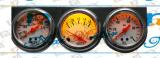 Calibro triplice magnetico della visualizzazione del camion e dell'automobile