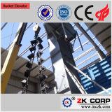 Elevación profesional del polvo de cerámica cadena de elevador de cangilones