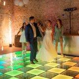 Prix de gros 20FT X 20FT Indoor led de visualisation 3D le tapis de plancher de danse