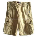 Estilo de moda casual hombres pantalones cortos (CFJ007)