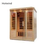 Saune asciutte domestiche della casa di sauna di Infrared lontano del vapore