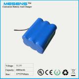 12V 6800mAh bewegliche Li-Ionbatterie