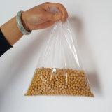 Sachet en plastique transparent clair de empaquetage bon marché de sac de Duffle de sac d'OPP