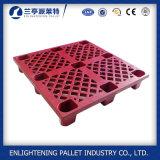 Plastic Pallet van de Uitvoer van de lage Prijs HDPE Gerecycleerde voor Verkoop