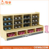 Prix préscolaire en bois annexe utilisé de meubles de mobilier scolaire de gosses