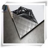 321 de la plaque en acier inoxydable poli miroir/feuille