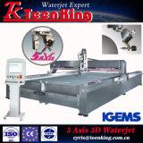 Waterjet van het Merk van Teenking Machine de Van uitstekende kwaliteit met Pomp Kmt van de V.S.