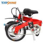 Dobrável Assistida E-bike com sistema de regulador de inércia