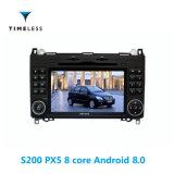 Lettore DVD dell'autoradio della piattaforma S200 2DIN del Android 8.0 di Timelesslong per Mercedes Benz codice categoria di a/B sviluppato in Carplay (TID-W068)