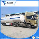 3대의 차축 유조선 트레일러 트레일러 40000 리터 반 연료 탱크 트레일러 가솔린 수송 탱크