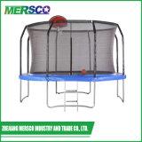 De Grote Trampoline van de Hoepel van de Bal van de mand met het Springen Mat de Van uitstekende kwaliteit