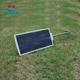 태양 가로등 LED가 에너지 절약 옥외 영사기에 의하여 점화한다