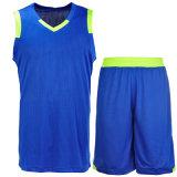 製造業者の男女兼用のバスケットボール均一乾燥した適合のスポーツの摩耗のバスケットボールジャージー