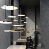 Deckenleuchte-elegantes romantisches Schlafzimmer-Licht-Gaststätte-hängende Lampe UFO des nordischen Tisch-Leuchter kreativen Minimalistic Eisen-las eingebautes LED Lampe der Kinder