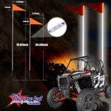 Super flexible et durable de la sécurité à LED de fouets pour les véhicules hors route UTV ATV