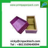 Custom плечо шеи жесткой картонных коробок цветов подарков High-end вино в салоне упаковки