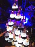 シャンペンのコークス、ワインのためのクラブLEDアイスペール、