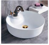Sanitarios de Cerámica de color negro mate lavabo del baño (C1270B)