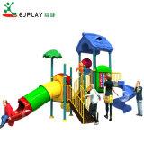 Tamanho Mini crianças parque infantil exterior de plástico com deslize