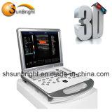 3D/4D цветового доплеровского ультразвукового сканера системы диагностики машины (Sun-906S)