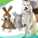 Chien de compagnie de jouets en peluche Chew Squeaker son mignon lapin farci de l'éléphant Pet Products