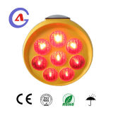 Modelo de carretera Solar LED de aviso de barricada de la luz de la señal de tráfico