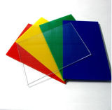 Acrílico colorido flexível transparente Folha Espelho /2mm Folha de acrílico