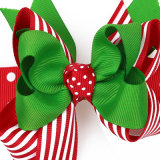 2018 bébé ruban Bobby broche Hair Clip Bowknot épingle à cheveux de Noël