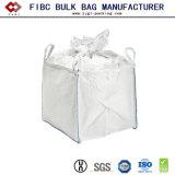 En PP blanc Sac en plastique personnalisés Jumbo tonne