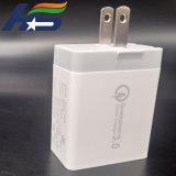 Super Rápido Qualcomm QC3.0 nosotros el enchufe de pared cargador de teléfono USB de viaje con 3 puertos
