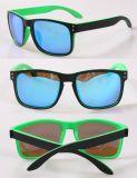 2018 Nouvelle entrée UV400 PC de loisirs de protection de la mode des lunettes de soleil