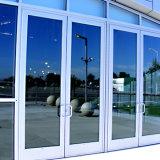 Portello scorrevole di alluminio del balcone con il portello dell'alluminio di prezzi di fabbrica