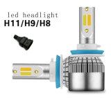 Ventiladores de alta velocidade de venda quente carro C6 Puls Dual Color 9006 5000lm farol LED Amarelo e Branco