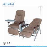 Ag-AC006 Ce&ISO met Stoelen die van het Ziekenhuis van de Matras van pvc de Zachte Luxueuze Vouwende wordt goedgekeurd