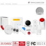 Alarma inalámbrica GSM de alarma de seguridad del hogar con teclado