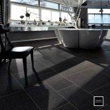 24x24 pouces 60x60cm Black Rock en porcelaine finition mat Floor and Wall Tile