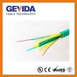 De hybride Duplex Vlakke Optische Kabel van de Vezel