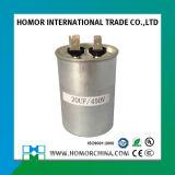 Capacitor de alumínio Cbb65 do escudo de RoHS 450VAC começar & de funcionamento
