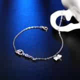 925 de echte Juwelen van de Armband van de Tegenhanger van de Vorm van de Libel van de Verkoop van de Droom van de Armband van het Staal Hete Echte Zilveren