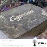 Hongdao reloj de madera personalizados de verificación para el almacenamiento y visualización _E