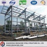 Structure métallique pour l'entrepôt Two-Story avec l'écran