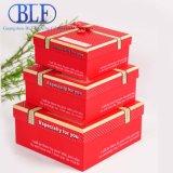 Напечатанный цветом бумажный паковать коробок подарка картона (BLF-PB011)