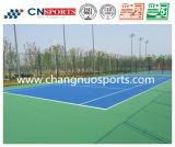 Corte durevole e portabile di colore di tennis con i certificati di Itf