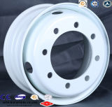 Hino, Foton, Isuzu, cerchioni d'acciaio senza camera d'aria del veicolo leggero 17.5X6.75