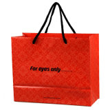 衣服(FLS-8201)のための高品質によって印刷されるギフトのショッピング・バッグ