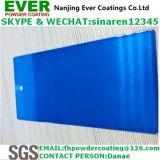 Les bonbons de couleur bleu laque bleu transparent Revêtement en poudre de pulvérisation électrostatique