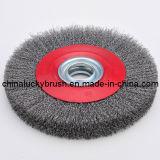 Rotella di spazzola circolare nera del filo di acciaio di 5 pollici (YY-044)
